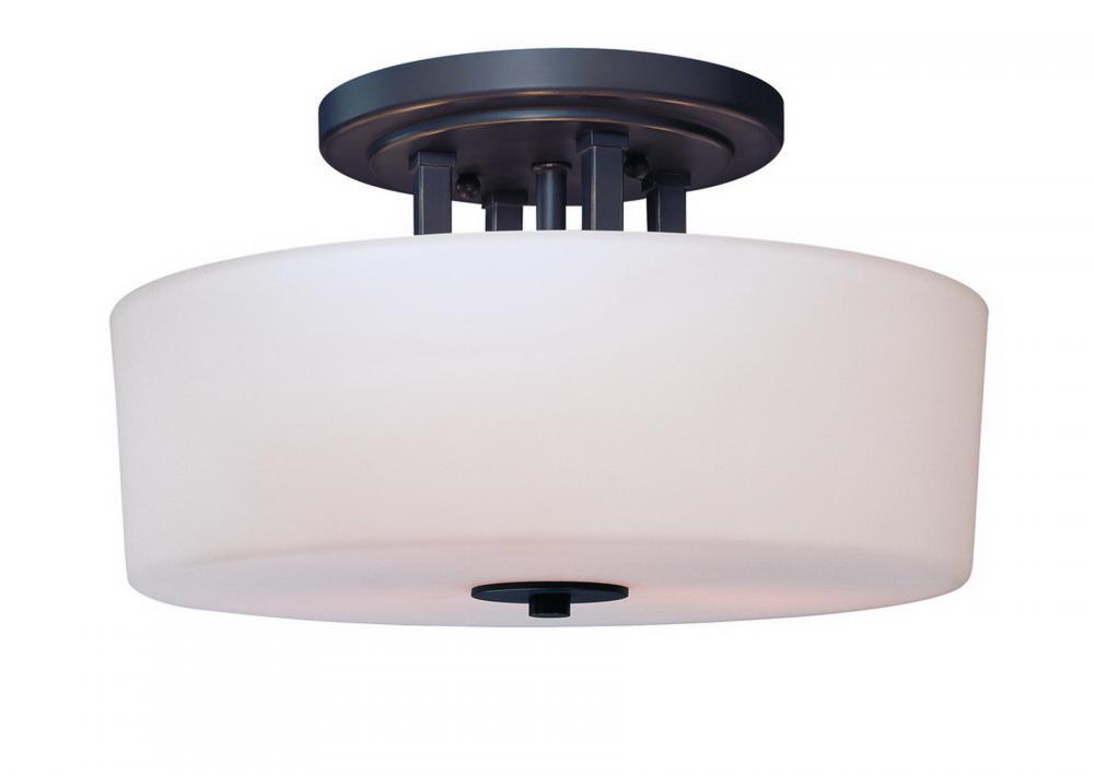 light bolivian drum shade semi flush mount 350q arizona lighting. Black Bedroom Furniture Sets. Home Design Ideas