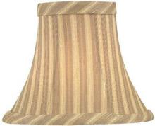 "Lite Source Inc. CH5133-5 - Candelabra Shade/beige Striped - 3""tx5""bx4""sh"