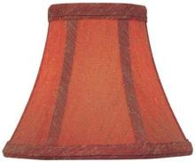 "Lite Source Inc. CH5173-6 - Candelabra Shade/red - 3""tx6""bx5""sl"