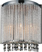 Crystal World 5535W8C-A - 2 Light Wall Sconce with Chrome finish