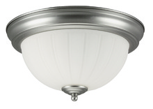 Jeremiah X111-BN - 2 Light Flushmount in Brushed Satin Nickel