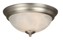 Jeremiah X211-BN - 2 Light Flushmount in Brushed Satin Nickel
