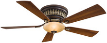 Minka-Aire F544-BCW - Two Light Belcaro Walnut Hugger Ceiling Fan
