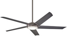 Minka-Aire F617L-GM - 60IN RAPTOR WITH LED CEILING FAN