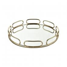 Sterling Industries 4209-020 - Chatelaine Round Tray