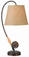 Kenroy Home 32193ORB - Fly Rod Table Lamp