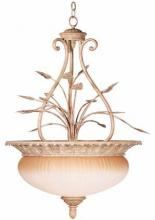 Kenroy Home 90405NUT - Terrace 4 Light Pendant