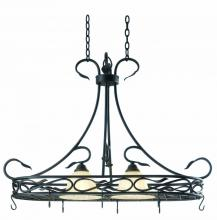 Kenroy Home 91562RBRZ - Countryside 2 Light Pot Rack